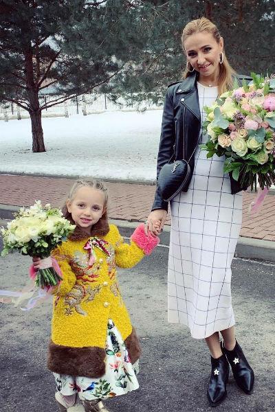 Татьяна Навка с Надей