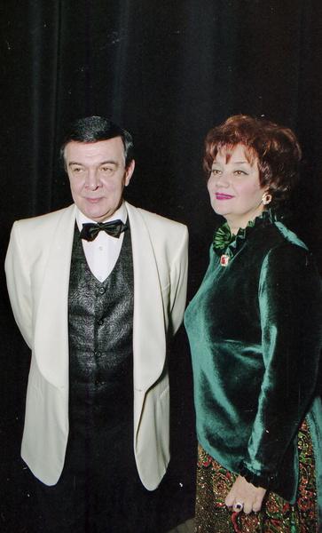 Муслим Магомаев был счастлив с Тамарой Синявской