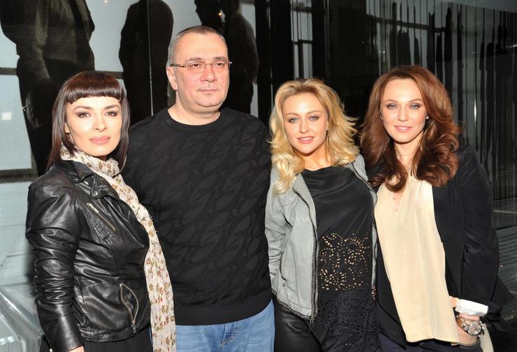 Константин Меладзе с экс-солистами группы