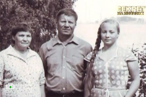 14-летняя Светлана с родителями