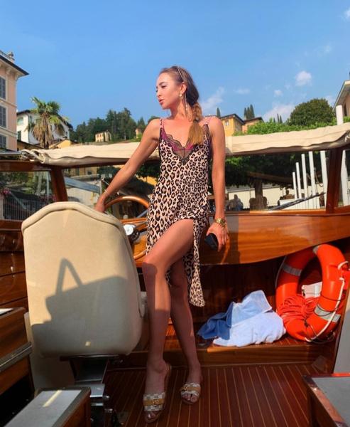 Певица отдохнула в Италии