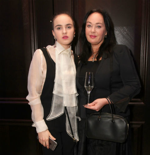 Лариса Гузеева и ее дочь Оля