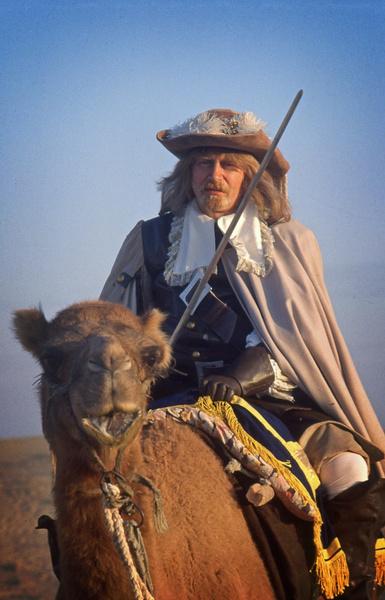 Валентин Смирнитский был не в восторге от перспективы ездить на верблюде