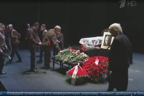Церемония прощания с Иваном Бортником
