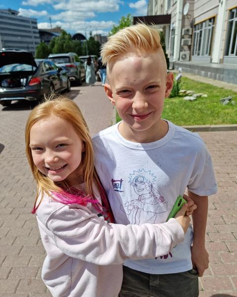 Супруги воспитывают сына Максима и дочь Алису