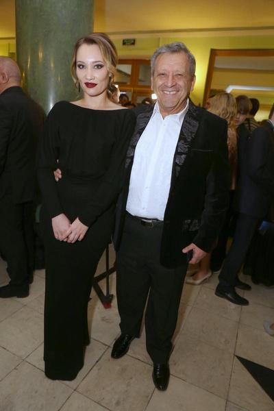 Борис Грачевский с женой Екатериной Белоцерковской