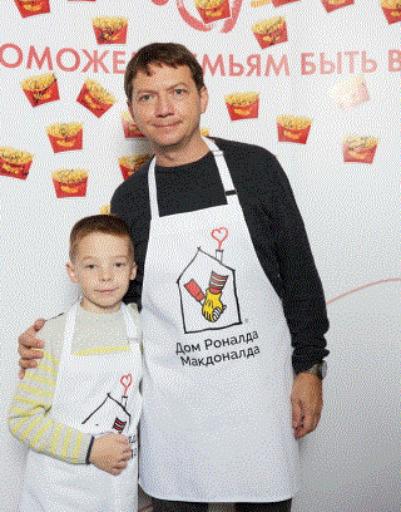 Георгий Черданцев с сыном
