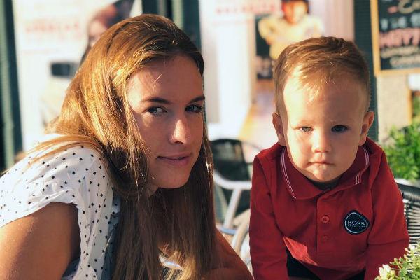 Мария проводит много времени с сыном Матео