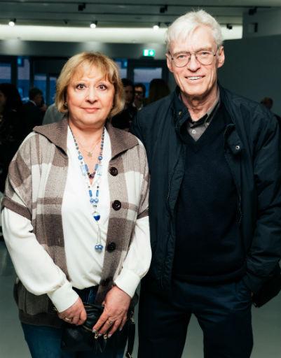 Борис Щербаков с супругой Татьяной