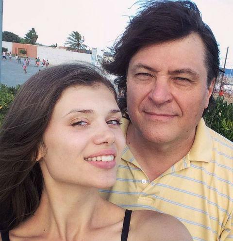 Игорь Удалов с супругой Анжеликой