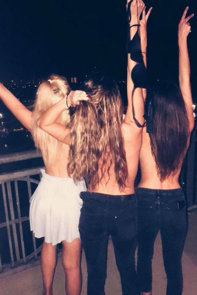 Девушка много времени проводила с друзьями на вечеринках