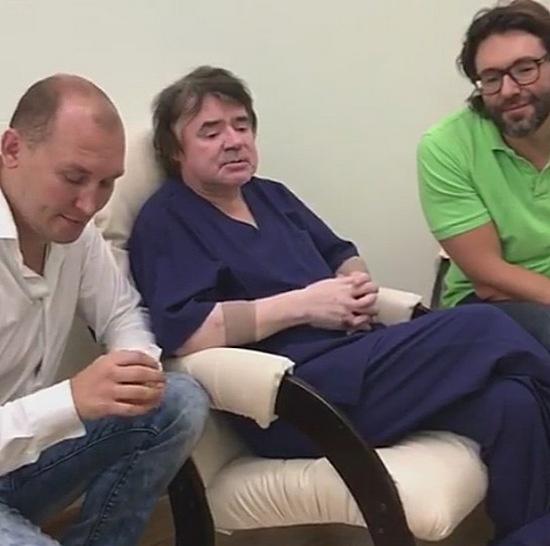 Никита Лушников, Евгений Осин и Андрей Малахов