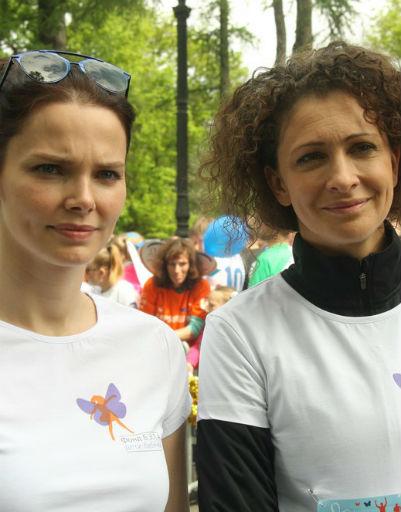 Елизавета Боярская и Ксения Раппопорт