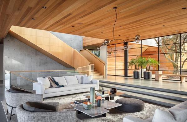 Дом выполнен из экологически чистых материалов
