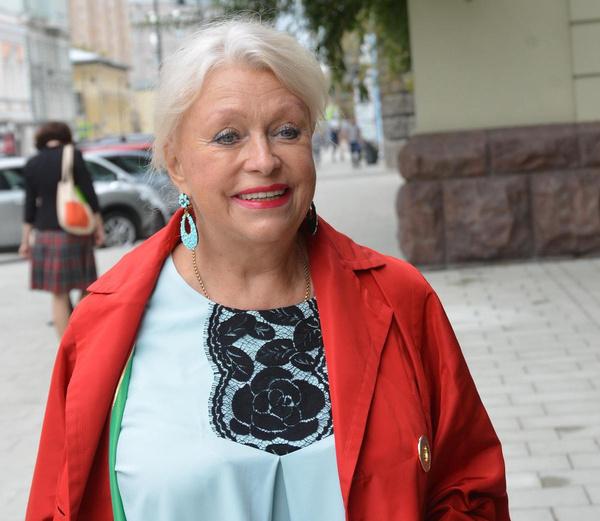 Из-за коронавируса Людмила Поргина почти не выходит из дома
