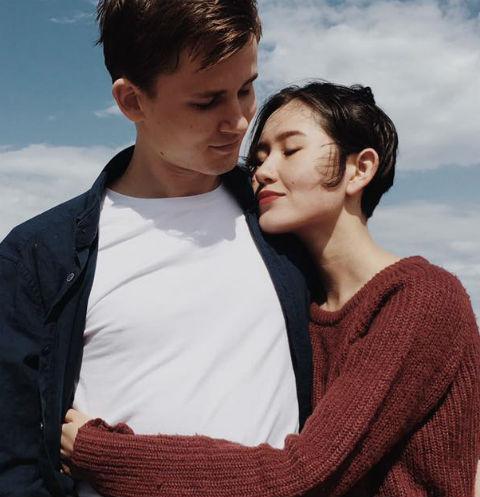Алия Шагиева с супругом Константином