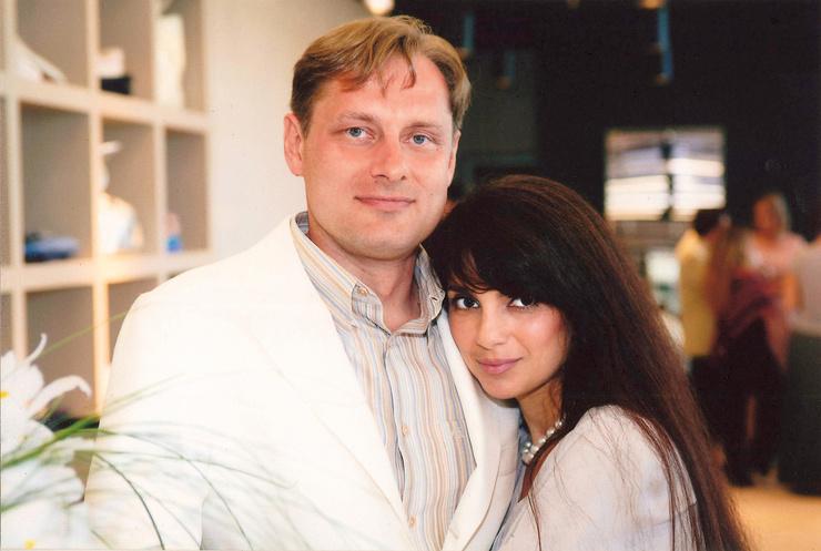 Владими Маругов с бывшей женой Татьяной