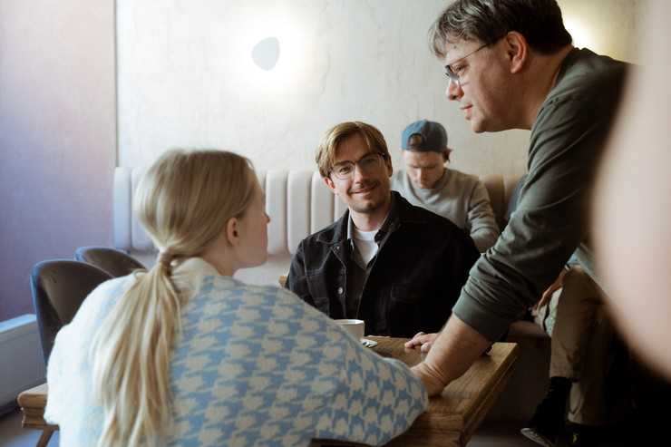Валерий Тодоровский снимает фильм в Петербурге