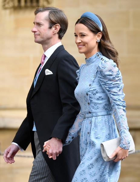 Пиппа и Джеймс поженились в 2017 году