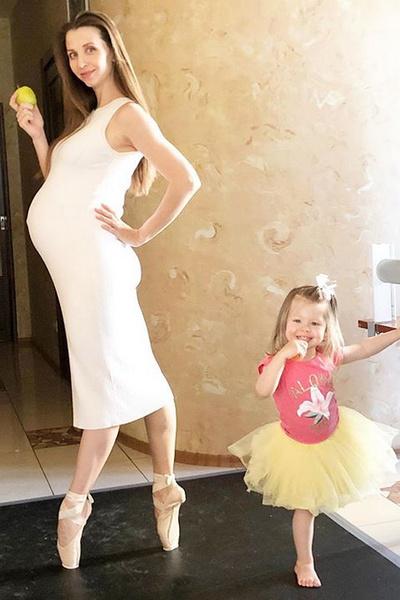 С дочерью Арианной