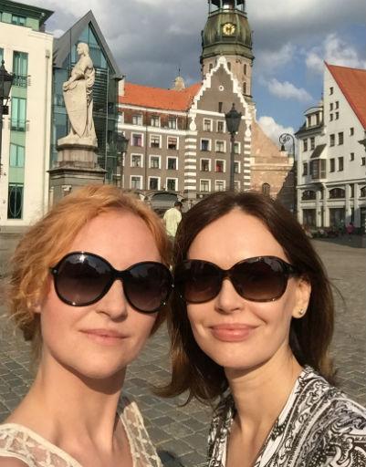 Ирина Безрукова и Нина Курпякова