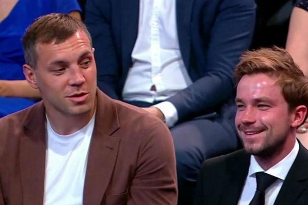 Артем Дзюба и Александр Петров гордятся тем, что пообщались с президентом