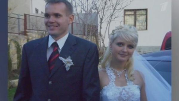 Наталья Краско с первым мужем Романом