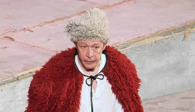 Роль Михаила Ефремова в спектакле «Чапаев и Пустота» отдали Александру Устюгову