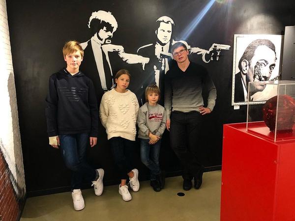 Аршавин сблизился с детьми от Юлии Барановской