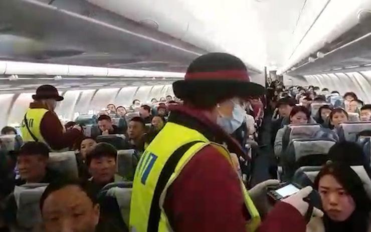 Обязательный санитарно-карантинный досмотр самолетов из Китая и Таиланда в аэропорту Внуково