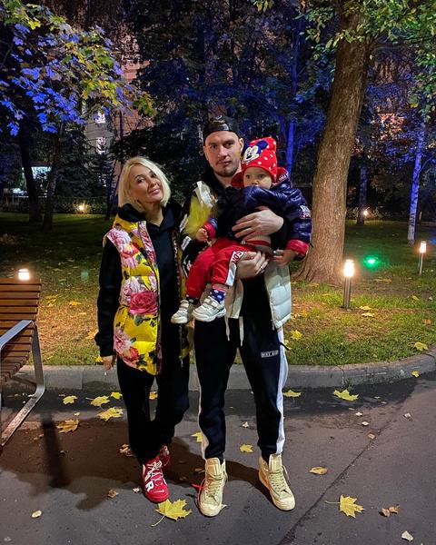 Дочь Леры Кудрявцевой и Игоря Макарова - всеобщая любимица