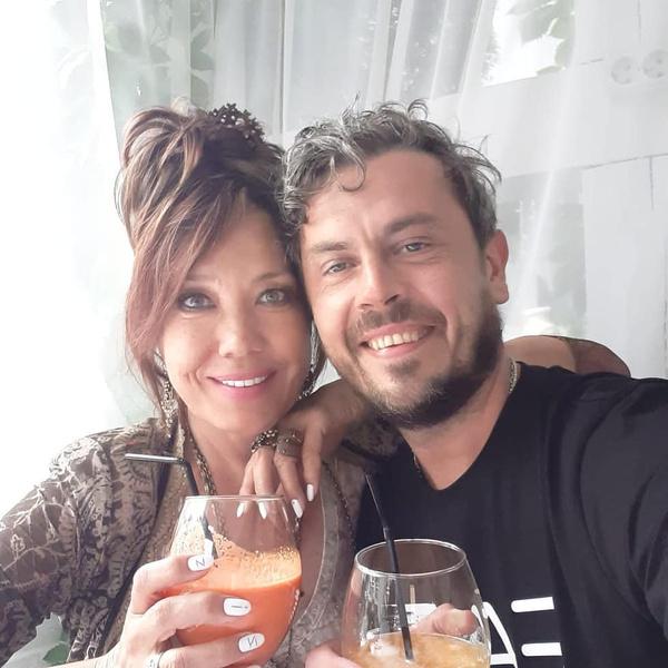 Азиза и ее муж Алессандро
