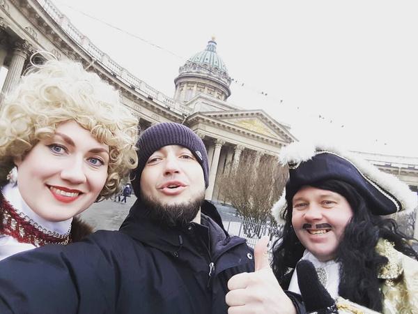 Павел снимал ролики в разных городах России