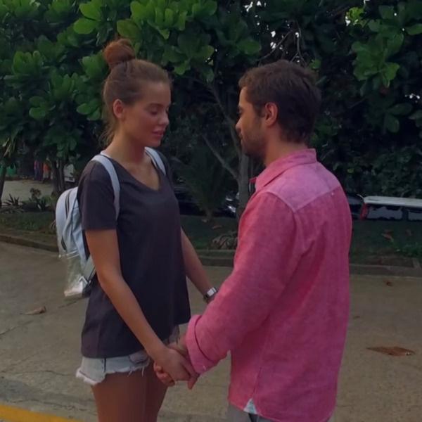 Илья и Дарья на одном из первых свиданий