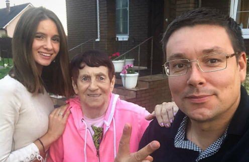 Виктория, Ольга Петровна и Андрей