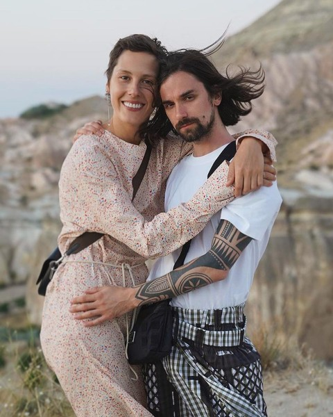 Ирина Горбачева с мужем Антоном Савлеповым
