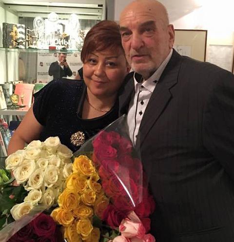 Азима Абдумаминова и Алексей Петренко
