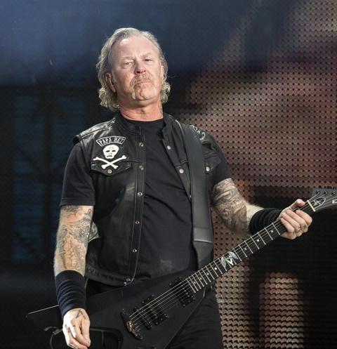 Солист группы Metallica Джеймс Хэтфилд