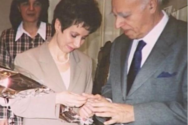 Свадьба Владимира Этуша и Елены Горбуновой