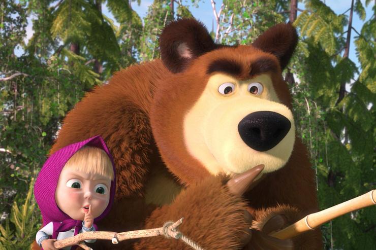«Маша и Медведь» — легендарный мультсериал