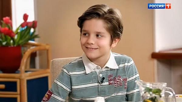 Младший сын Татьяны Булановой Никита