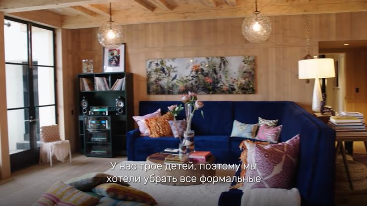 Дизайном дома супруги занимались вместе с профессиональными дизайнами