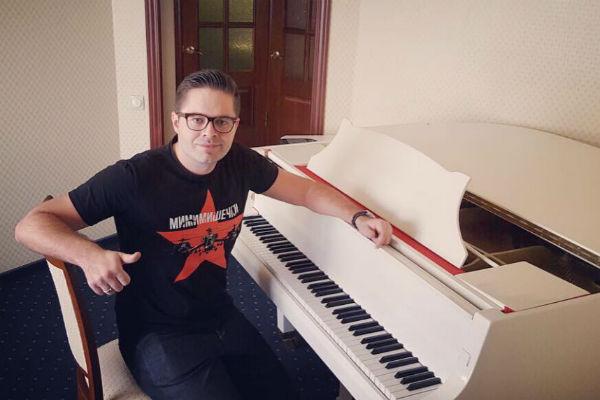 Сергей Волчков на репетиции