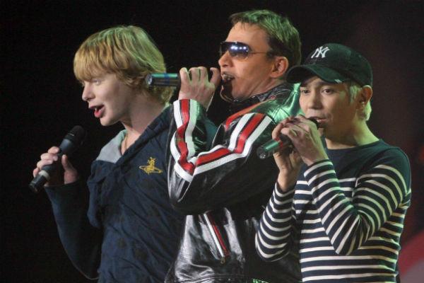 Выступление группы «Иванушки International» в 2004 году