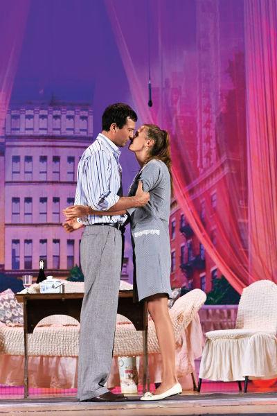 Андрей и Мария вместе не только в жизни, но и на сцене