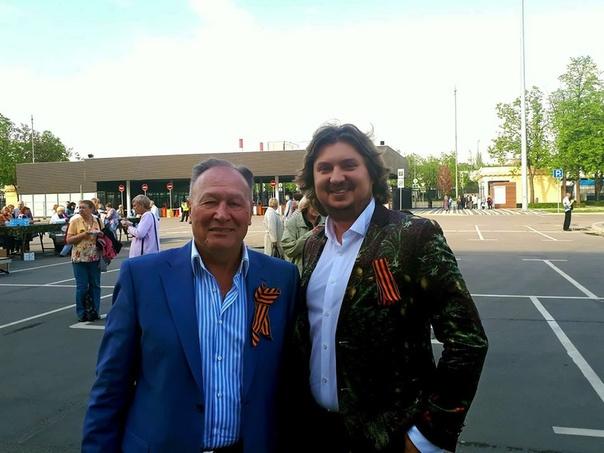 Александр Беленький и солист «Москонцерта» Илья Ушуллу