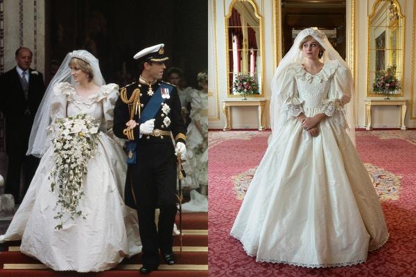 5 культовых нарядов принцессы Дианы в сериале «Корона»