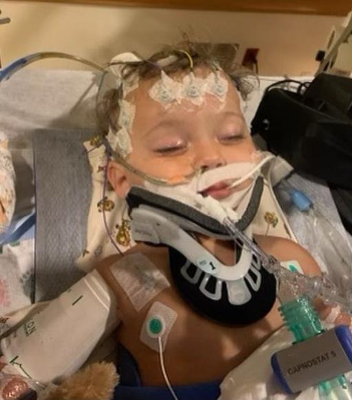 Малыш попал в больницу несколько дней назад