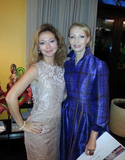 Елена Захарова и Илзе Лиепа