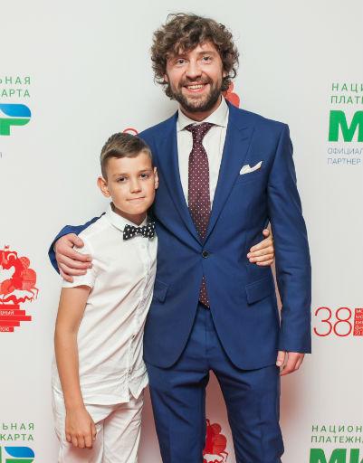 Дмитрий Сергин с сыном Владиславом